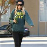 Nicole Richie works out before wedding  74527