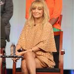 Nicole Richie speaks onstage during the Fashion Star panel during the NBCUniversal portion of the 2012 Winter TCA Tour 102120