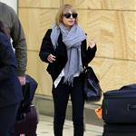Nicole Richie arrives at the Sydney airport  115428