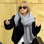 Nicole Richie arrives at the Sydney airport  115430