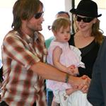 Nicole Kidman and Keith Urban leaving Australia after holidays 52899