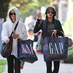 Nikki Reed and Elizabeth Reaser go shopping again 45011