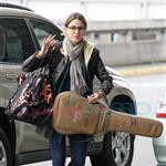 Nikki Reed with friend Sage leaves Vancouver after wrapping on New Moon 37179