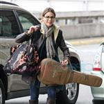 Nikki Reed with friend Sage leaves Vancouver after wrapping on New Moon 37166