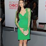 Nina Dobrev at the 2012 People's Choice Awards 102512