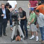 Christopher Nolan working on Inception last year  65461