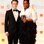 Daniel Radcliffe and Octavia Spencer at the 2012 BAFTAs 105877