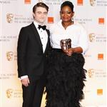 Daniel Radcliffe and Octavia Spencer at the 2012 BAFTAs 105878