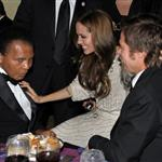 Brad and Angelina at the UNICEF Ball 52551