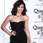 Olga Kurylenko in Rome and Spain promoting Bond Quantum 27050