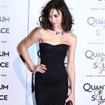 Olga Kurylenko in Rome and Spain promoting Bond Quantum 27043