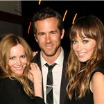 Olivia Wilde at Ryan Reynolds DETAILS Magazine dinner with Leslie Mann 87032