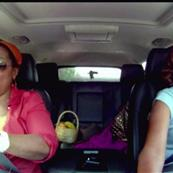 Oprah and Gayle on a road trip 74587
