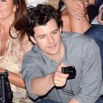 Orlando Bloom proudly watches Miranda Kerr walk Dior show in Paris  95383