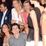 Orlando Bloom proudly watches Miranda Kerr walk Dior show in Paris  95386
