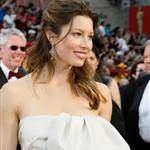 Jessica Biel wears a napkin to the Oscars 33607