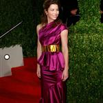 Jessica Biel at the Vanity Fair Oscar party 33600
