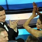 Brad Pitt and Angelina Jolie at the Oscars 2009 33573