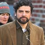 Oscar Isaac seen filming his new movie Inside Llewyn Davis in Queens, New York 104942