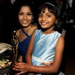 Freida Pinto and cast at Oscars 2009 33476