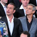 Jean Dujardin and George Clooney attend the 84th Academy Awards Nominations Luncheon 105125