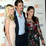 Kirsten Dunst, Garrett Hedlund and Kristen Stewart at the TIFF premiere of On The Road 125434