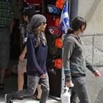 Ellen Page and Clea Duvall in Montreal before royal visit 88746