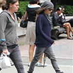 Ellen Page and Clea Duvall in Montreal before royal visit 88748