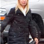 Gwyneth Paltrow in Chicago on the set of Contagion  74695