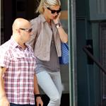 Gwyneth Paltrow leaves her apartment in New York 68949