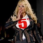Pamela Anderson walks for Vivienne Westwood Paris Fashion Week  34405