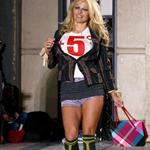Pamela Anderson walks for Vivienne Westwood Paris Fashion Week  34404