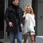 Pamela Anderson with Mitch Berger in Vancouver  103887