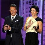 Lauren Graham and Matthew Perry at the Emmy Awards  76078