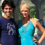 Paris Hilton with Adrian Grenier in Malibu 12425