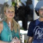 Paris Hilton with Adrian Grenier in Malibu 12424