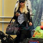 Ebola Paris Hilton arrives in Vancouver to shoot Supernatural 45392