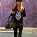 Ebola Paris Hilton arrives in Vancouver to shoot Supernatural 45394