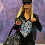 Ebola Paris Hilton arrives in Vancouver to shoot Supernatural 45395