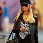 Ebola Paris Hilton arrives in Vancouver to shoot Supernatural 45399