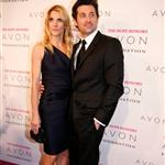 Patrick Dempsey and sourface wife Jillian at Avon event in New York 26673