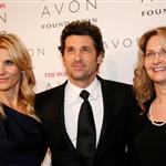 Patrick Dempsey and sourface wife Jillian at Avon event in New York 26676