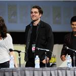 Taylor Lautner, Kristen Stewart and Robert Pattinson at Comic-Con for Breaking Dawn 90535