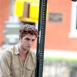 Robert Pattinson on the set of Remember Me 42244
