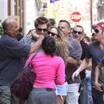 Robert Pattinson attacked by crazy fans in New York 41183
