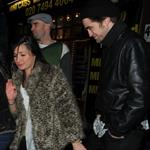 Robert Pattinson at Groucho Club on BAFTA weekend 32474