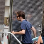 Robert Pattinson on set of Remember Me in New York  42692