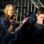 Robert Pattinson and Emilie de Ravin shoot Remember Me in New York 43013