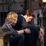 Robert Pattinson and Emilie de Ravin shoot Remember Me in New York 43021
