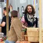 Paul Rudd on set for My Idiot Brother  65085
